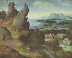 Landschaftsmalerei renaissance  Tobias   † São Miguel, Rafael e Gabriel †   Pinterest