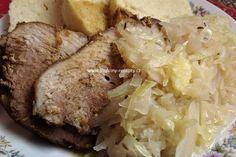 Babiččino zelí z čerstvé hlávky Baked Potato, Side Dishes, Pork, Food And Drink, Potatoes, Beef, Chicken, Baking, Ethnic Recipes