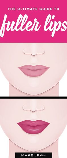 Get bigger-looking lips in less than a minute with this simple tutorial for how to plum your pout. Beauty Tips For Teens, Beauty Tips For Face, Diy Beauty, Beauty Makeup, Basic Makeup, How To Apply Makeup, Beauty Hacks Lips, Lipstick Swatches, Matte Lipsticks