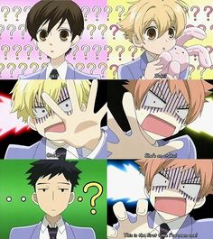 I love how Mori-senpai is not showing any emotion... Like normal