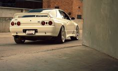 Nissan Skyline R32 GT-R. Yes please.