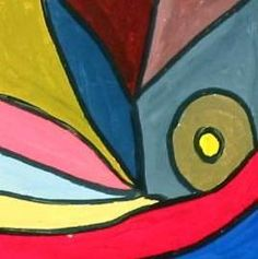 middle school -- 6th - Mini Triadic Color Schemes