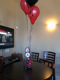 Jordan Baby Shower - Custom Balloons with Centerpieces Event Styling: Creations By Sasha