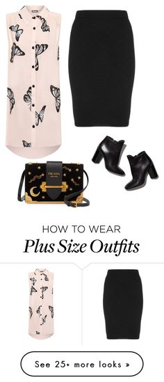 """Без названия #601"" by lena-bobkova on Polyvore featuring WearAll, Manon Baptiste, Pierre Hardy and Prada"