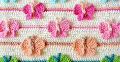 Learn A New Crochet Stitch: Butterfly Stitch