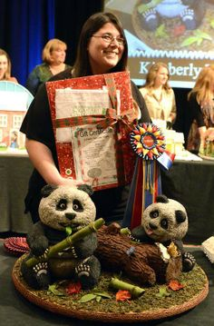 Pandas take top prize at gingerbread contest