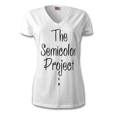 The Original Tee (Womans) - The Semicolon Project