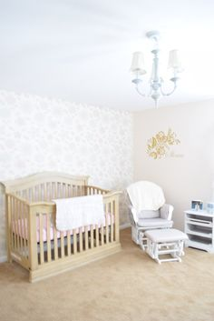 Project Nursery - Floral and Gold Nursery