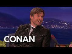 "Nikolaj Coster-Waldau's ""Game Of Thrones"" Spoilers - CONAN on TBS - YouTube"