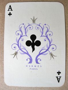 Cassandre, Hermes Bridge Playing Cards, c.1947