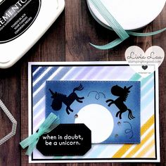 Hippo Happiness Silhouette Card | Stamping for Good
