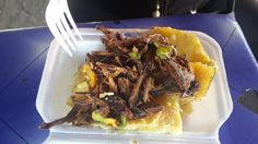 Roas' Yam and Mackarel Jamaican Cuisine, Yams, Beef, Foods, Meat, Food Food, Food Items, Steak