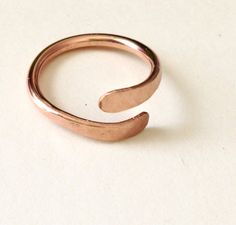 A personal favourite from my Etsy shop https://www.etsy.com/uk/listing/548807705/open-gold-ring-band-open-size