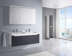 Bezúchytkový, moderní, designově variabilní, a přitom prostorově velkorysý, takový je COLOR.  Hodí se spíše do prostorného domu s vícečlennou domácností, ale chybu s ním neuděláte ani v bytě. Bathroom Lighting, Mirror, Furniture, Color, Design, Home Decor, Catalog, Bathroom Light Fittings, Bathroom Vanity Lighting