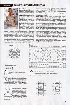 Gaby, sweater negro 2. Crochetpedia, detalles