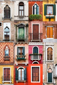Which window construction do you actually know?- Welchen Fensterbau kennen Sie eigentlich Which window construction do you actually know? Parquet Chevrons, Jolie Photo, Venice Italy, Italy Italy, Italy Art, Windows And Doors, House Windows, Travel Photography, Eye Photography
