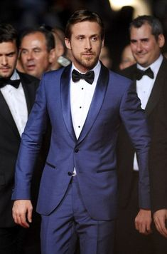 This tuxedo is entirely incorrect. A single breasted tuxedo should only have 1 button, no more. Also, where is this fellow's waist covering??