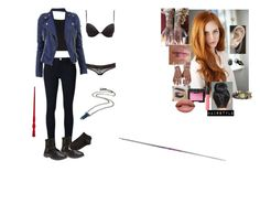 """""""A.J. practicing her Martial Arts"""" by andyarana ❤ liked on Polyvore featuring Alice + Olivia, Frame, Charlotte Russe, Wet Seal, Wolford, Majorica, Kingsley Ryan, Embers Gemstone Jewellery and NARS Cosmetics"""