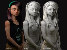 Dream High by GabrielFernandez   Portrait   3D   CGSociety