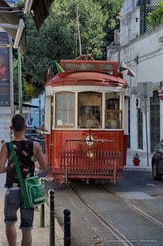 Visiting #Lisbon 7 hills by the Red tram #Portugal