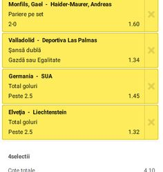 Biletul zilei 10.06.2015 / Fotbal Amicale - Ponturi Bune