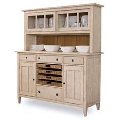 country style hutches | Credenzas & Buffets for Dining Room From ART Furniture