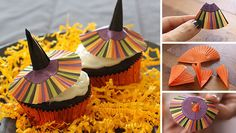 Chocolate Witches' Cupcakes