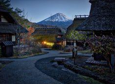 A small village near Mt. Fuji, Japan. #80stays