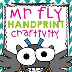 Long i Craftivity - Mr Fly by From the Pond | Teachers Pay Teachers