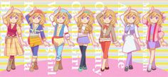 The girl outfits from TOTT.