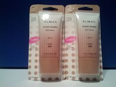 Almay Smart Shade Liquid Makeup Medium 300 Flaw Erase Skin Tone Matching Makeup #Almay