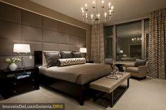 Luxury bedroom decor Decoracao de quarto - IMOVEIS DE LUXO GOIANIA