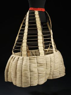 Cage crinoline Place of origin: united kingdom (made)  Date: ca. 1867 (made)  Artist/Maker: unknown (production)  Materials and Techniques:...