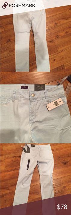 NYDJ  skinny jeans size 12. Sky blue NYDJ skinny Jeans great fit size 12. SKY BLUE NYDJ Jeans Skinny