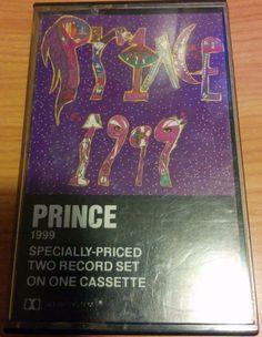Prince - 1999 Cassette Tape