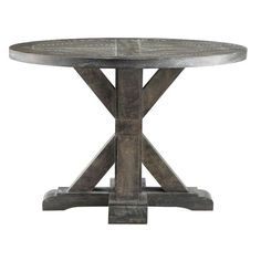 The Bridgeport Round End Table will be a beautiful and welcomed accent piece to your living room.