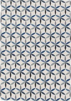Starflower Blue by Barber and Osgerby for The Rug Company