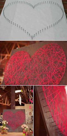 Heart Wedding Valentines day decoration