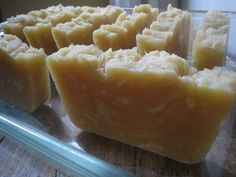 """Shampoo Bar Soap. Great to use instead of Baking soda in the No """"Poo"""" challenge. Use with the ACV rinse."""