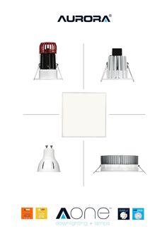 Aurora AOne Downlighting & Lamps Catalogue