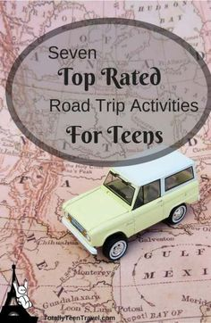 Seven Top-Rated Road Trip Activities for Teens - Totally Teen Travel - Boring road trips are so last Tuesday! We list seven inexpensive yet highly amusing road trip activ - Car Ride Activities, Activities For Teens, Games For Teens, Travel Activities, Road Trip With Kids, Family Road Trips, Road Trip Usa, Travel With Kids, Family Travel