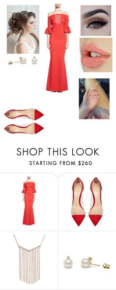 """Untitled #2774"" by vanessa898 ❤ liked on Polyvore featuring La Petite Robe di Chiara Boni and Gianvito Rossi"