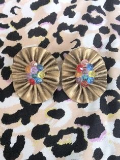 Multicolored Gold by GlamLifeAccessories on Etsy, $5.00