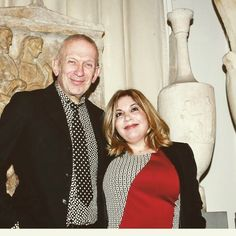Jean Paul Gaultier & Epi Trimi  at the Benaki Museum
