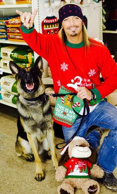 """Hey Road Dog Nation, it is that time of year again and the holidays are just upon us! Get ready because the holiday party starts now with the """"Bret Michaels Ugly Sweater Contest"""" and introducing th..."""