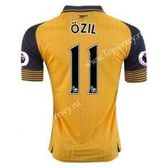 2016/17 Arsenal Away Yellow ÖZIL Thailand Soccer Jersey https://www.topjersey.ru