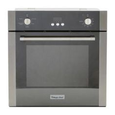 The Magic Chef 24 in. wide wall oven offers maximum functionality in a compact space. Prepare family size meals in its cu. Its sleek, stainless steel mirrored glass with modern lines White Washed Oak, Single Wall Oven, Electric Wall Oven, Small Oven, Convection Cooking, Magic Chef, Kitchen Oven, Oven Cleaning, Oven Racks