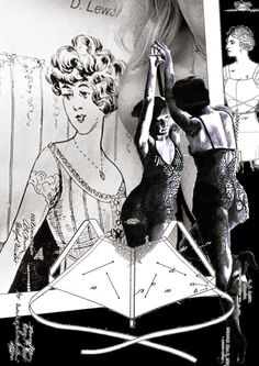 1914 meets 2014 - Lingerie Lingerie, Sketches, Illustration, Pictures, Collection, Art, Fashion, Art Background, Fashion Styles