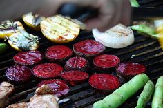 grilled beets - sounds easy and delicious...I'm going to try it