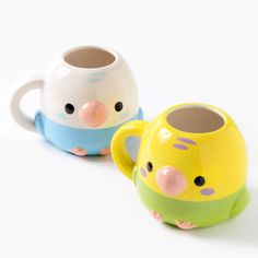picture of Kotori Tai Bird Die-Cut Mugs 1